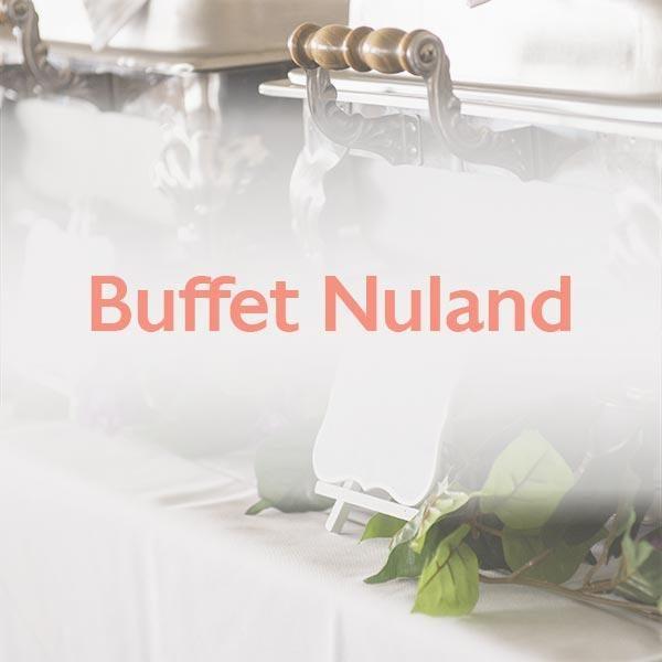 Tielebar catering & verhuur artikel buffet nuland