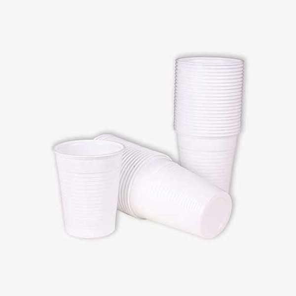 Tielebar catering & verhuur artikel plastic wegwerpbekertjes | 50 stuks