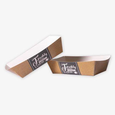 Tielebar catering & verhuur artikel kartonnen frietbakje | 200 stuks